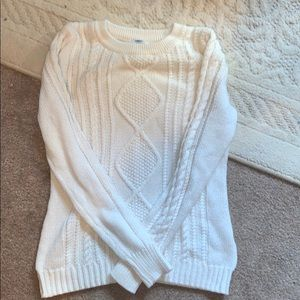 Old Navy White Sweater!
